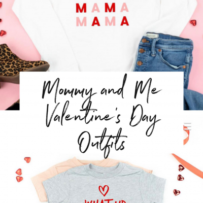 Mommy and Me Valentine's Day Outfits