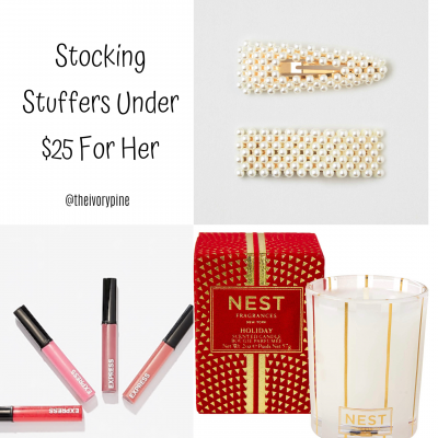 Gifts Under $25 for Her {Stocking Stuffers}